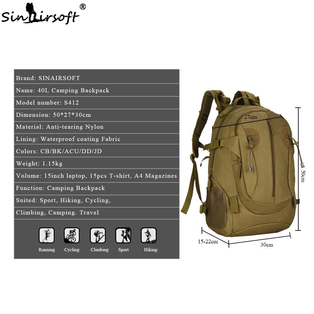 Backpack BigBoz.Biz SINAIRSOFT Waterproof