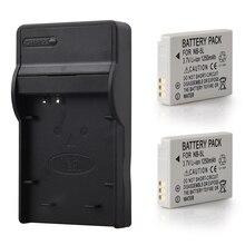2 шт. NB-5L NB 5L NB5L Батарея + Зарядное устройство для Canon SX200is SX210IS SX220HS SX230HS для CB-2LXE S100 S110 SD950 SD970 SD990
