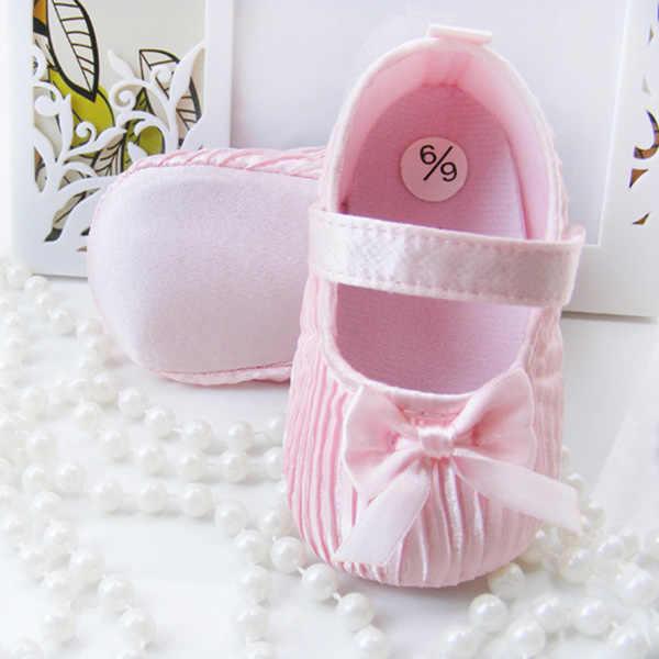 Pasgeboren Baby Meisjes Eerste Wandelaars Schoenen Peuter Zuigeling Zachte Prewalker Anti-Slip Schoenen Bruiloft Prinses Schoenen Nieuwe