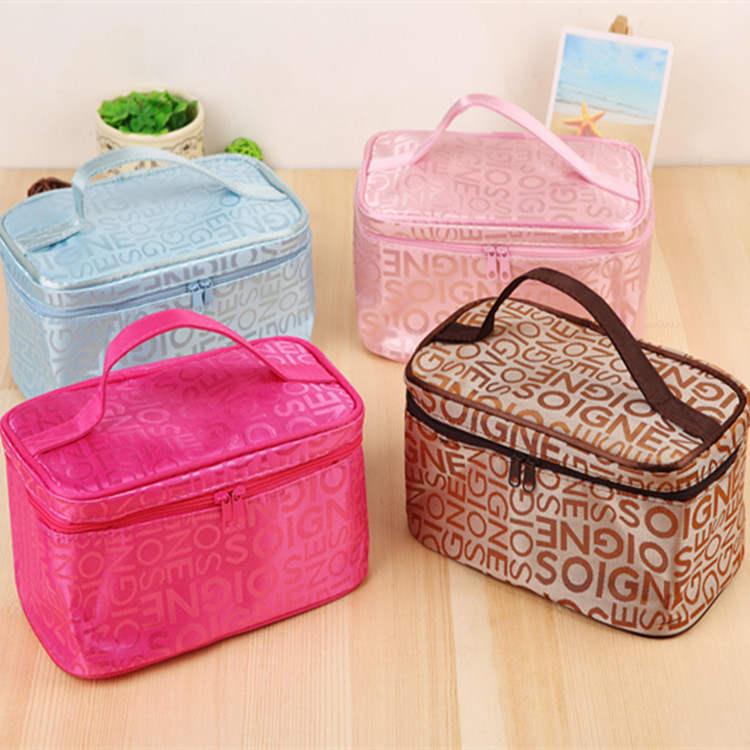 Cosmetic Bag Fashion Watermelon Plush Zipper <font><b>Makeup</b></font> Organizer Pouch Bag for Travel Storage Necessary Beauty <font><b>Case</b></font> image