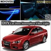 For Proton Inspira Interior Ambient Light Tuning Atmosphere Fiber Optic Band Lights Inside Door Panel Illumination