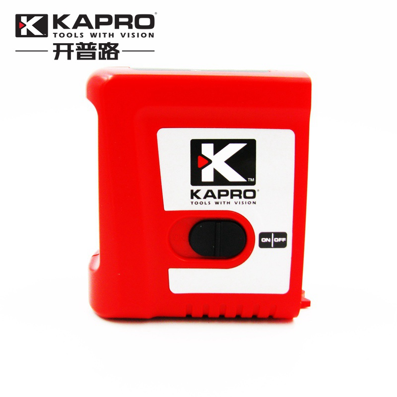 KAPRO Self-leveling Mini Infrared Laser Level With Magnet Cross beam 2-line Level Measurement Instrument With L-type bracket