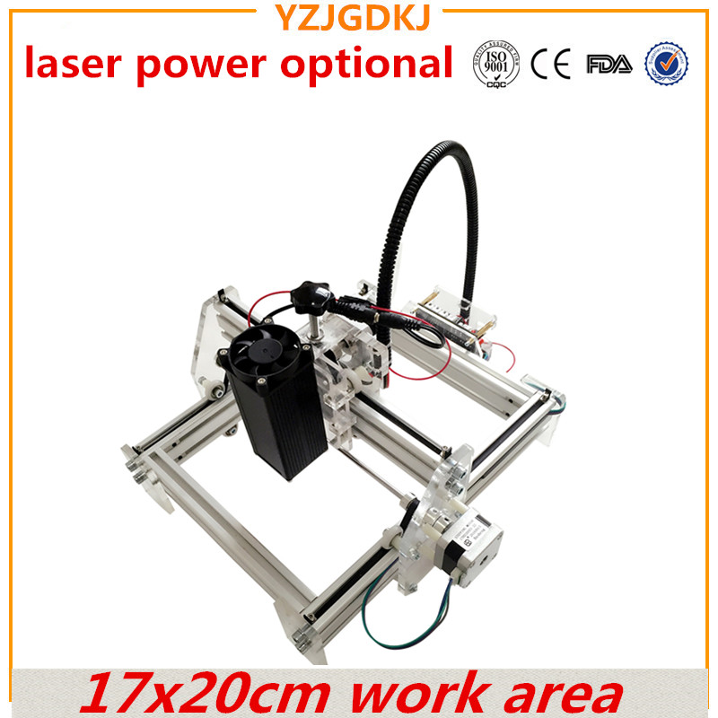 1720 laser engraving toy grade DIY desktop micro laser engraving machine marking laser power optional big power mark on dog tag