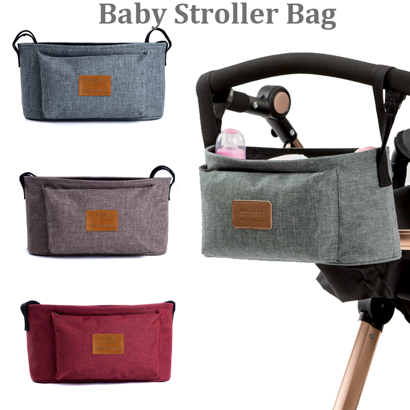Stroller Organizer Baby Carriage Pram Buggy Cart Cup Bag Stroller Accessories