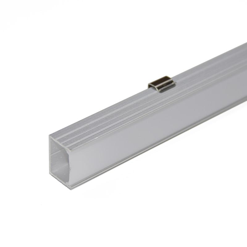 10PCS * 1M U formalı alüminium LED profil alüminium kanal, 16mm - İşıqlandırma aksesuarları - Fotoqrafiya 3