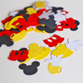 (100pieces/lot) Mickey Mouse Party Confetti, Mickey Mouse Party Decorations, Party Decorations c05