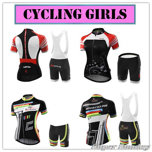Free Shipping Women's Cycling Jerseys Female Bike Jersey High Quality Summer Bicycle Racing Clothing Short Sleeve Sports Wear 176 top quality hot cycling jerseys red lotus summer cycling jersey 2017s anti uv female adequate quality sleeve cycling clothin