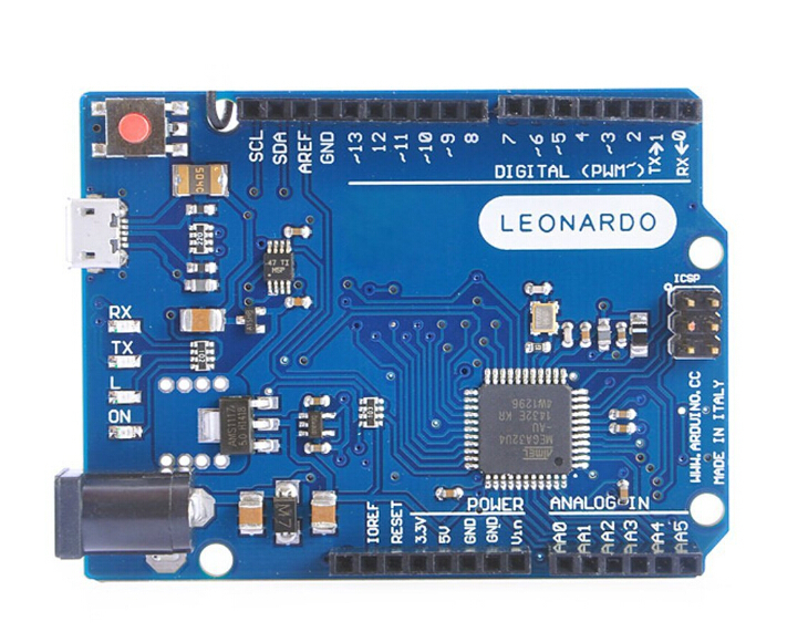 Leonardo R3 Microcontroller Atmega32u4 Development Board With USB Cable Compatible For Arduino DIY Starter KitLeonardo R3 Microcontroller Atmega32u4 Development Board With USB Cable Compatible For Arduino DIY Starter Kit