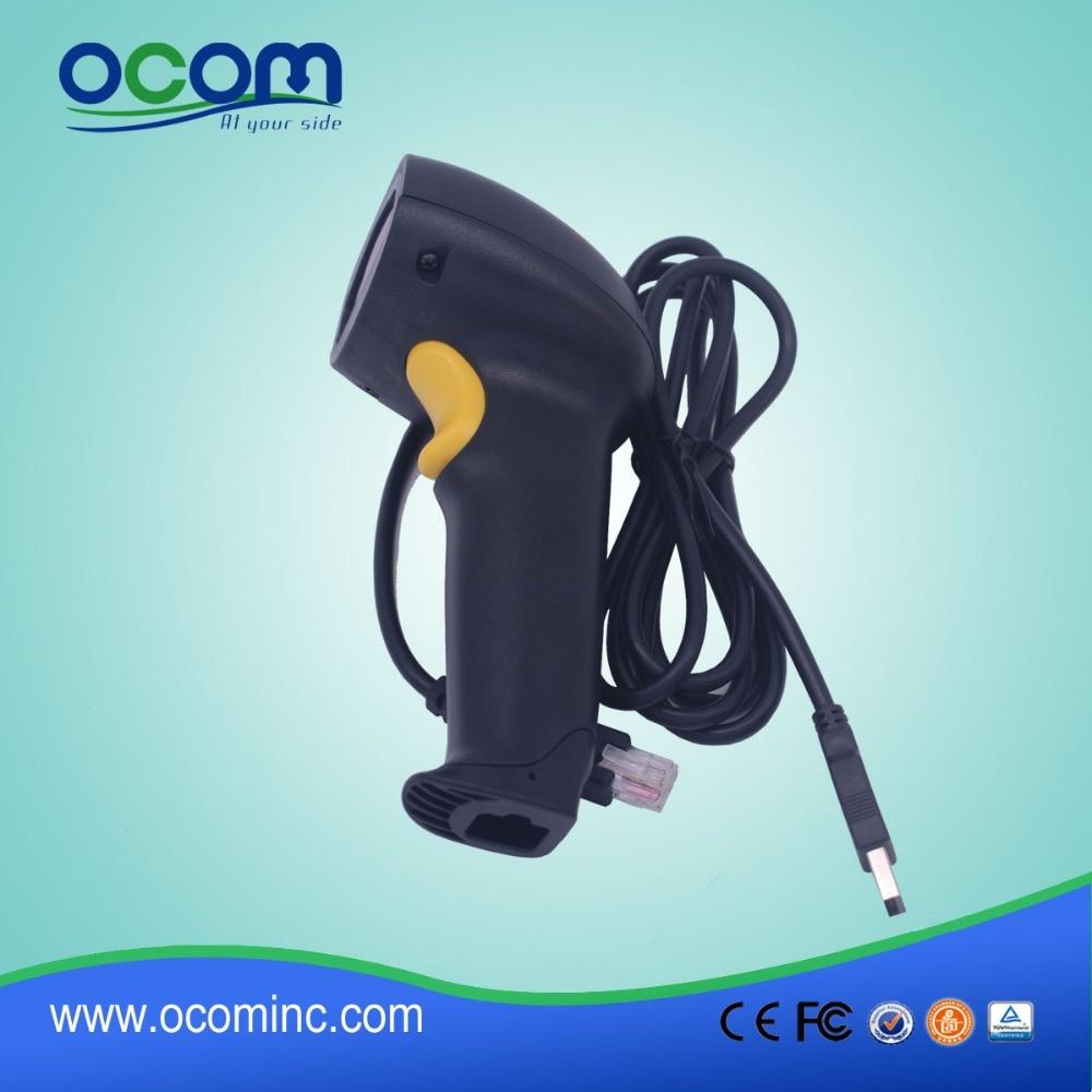 OCBS L007(PS2): Chine cheap handheld supermarket USB 1D laser ...