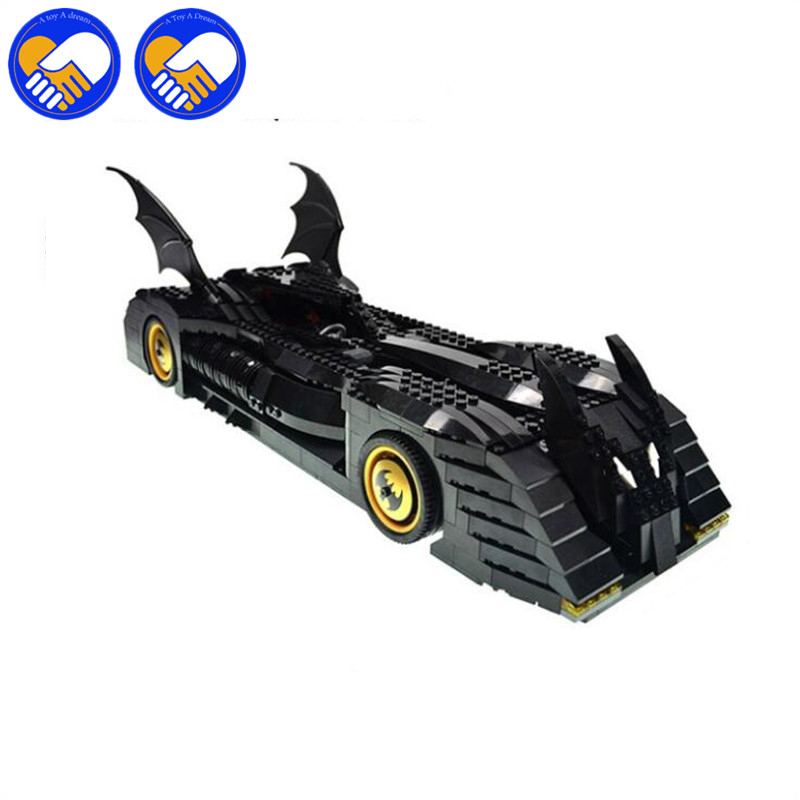 A TOY A DREAM 7116 Super Batmen The Batmobile building Blocks Bricks Toys Set Boy Game Compatible with BELAMOC 7784 a toy a dream lepin 15008 2462pcs city street creator green grocer model building kits blocks bricks compatible 10185