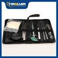 SG POST Frete grátis hv3n de costura saco/pacote de sutura cirúrgica kits set Tesouras Fórceps Agulha Ferramenta Titular