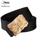 [DWTS]2016 Brand Belt Buckle Strap Male Genuine Leather Belt Men Fashion Luxury Belts Man Ceinture Casual Business smooth button