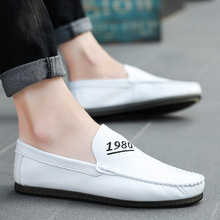 цены New 2018 Flats Men Shoes Breathable Spring Summer Loafers Fashion Casual Loafers Male flat Casual Driving Shoes  5