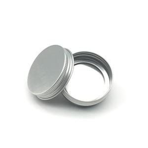Image 5 - 30 ML / 30G / 1 FLOZ אלומיניום צנצנת כסף צנצנת קרם אבקת ג ל שימוש הטוב ביותר קוסמטי בקבוקים 8.5G אלומיניום יכול פח