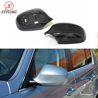 Carbon Mirror Cover For BMW E90 E91 Rear Side View mirror cover 3 Series 328i 335i 328iM 2005 2006 2007 2008 2009 2010 2011 2012