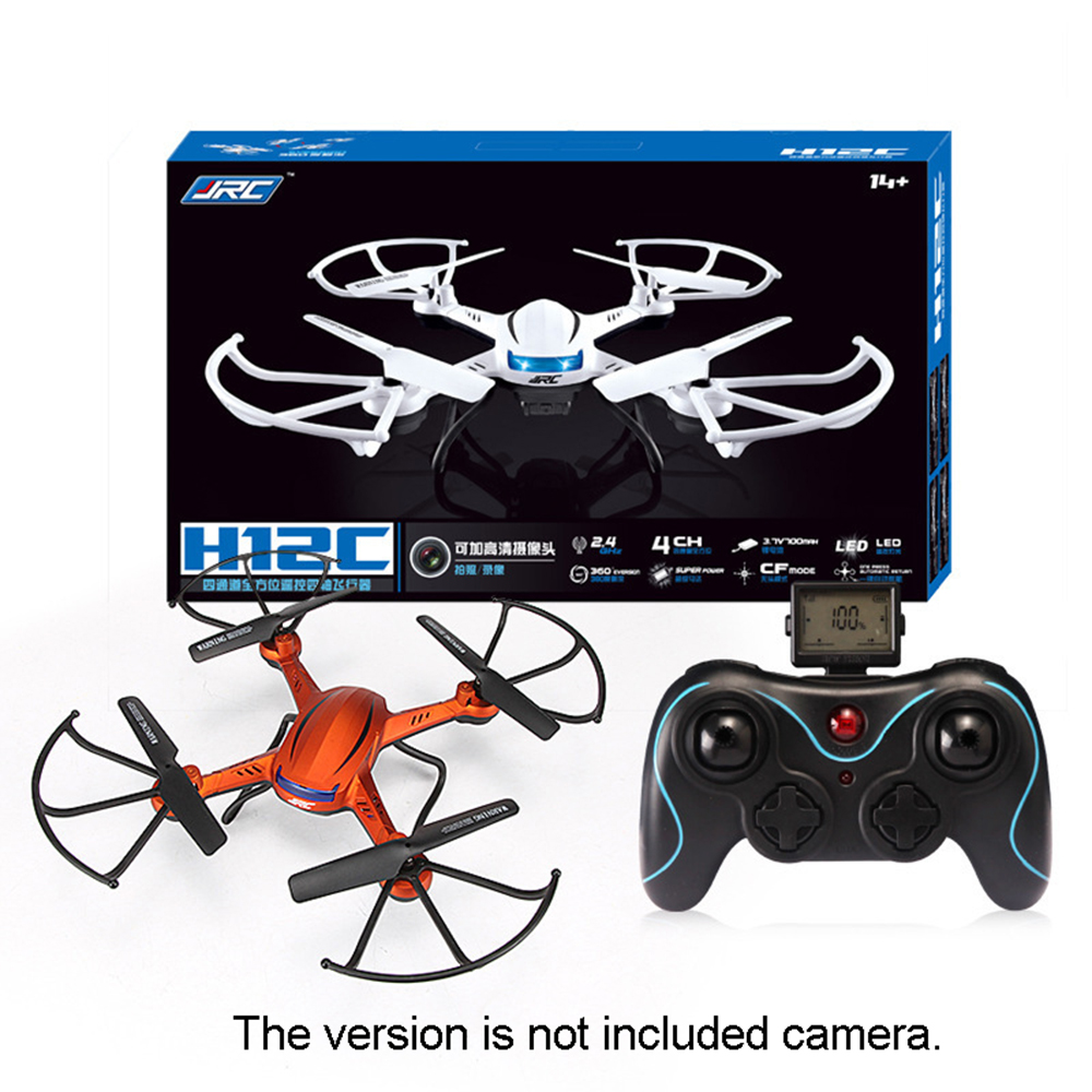 mini RC Quadcopter JJRC H12C Drone 2.4G 4CH 6 Axis Gyro Headless Mode 3D Flip Fly Without Camera juncheng 3015 2 mini drone 3d flip fly 6 axis gyro 2 4g 4ch rc quadcopter