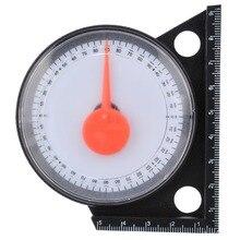 Inclinação inclinômetro ângulo finder inclinação transferidor inclinação medidor de nível clinômetro calibre com base magnética medição ferramentas de medição
