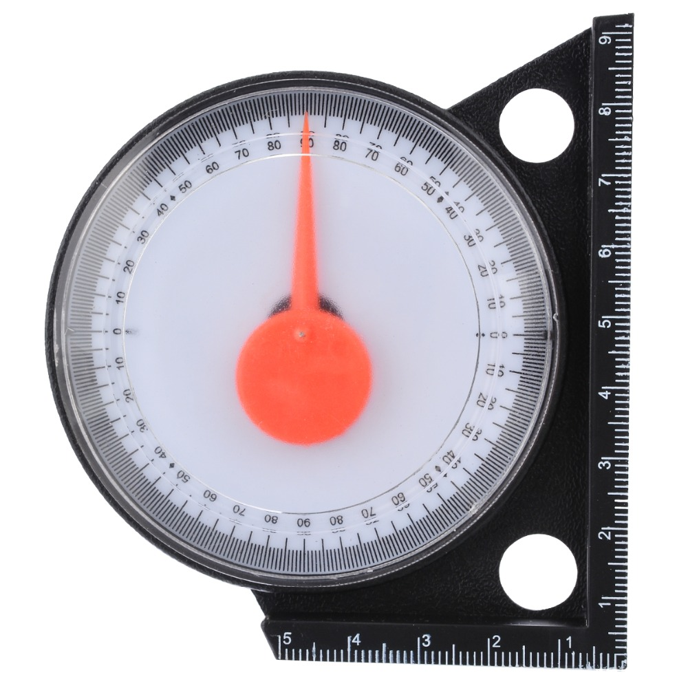 Inclinomètre de pente détecteur d'angle rapporteur de pente indicateur de niveau d'inclinaison jauge de clinomètre avec Base magnétique outils de mesure de jaugeage