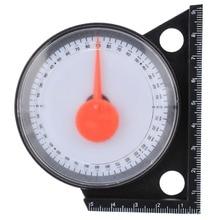 מדרון Inclinometer זווית Finder מדרון מד זוית הטיה רמת מטר Clinometer מד עם מגנטי בסיס מדידת כלים אומד