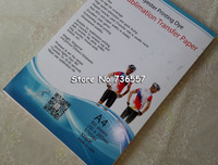 100 Sheets A4 Sublimation Paper For 3D Sublimation Machine Ink Printer High Transfer Rate Mug Glass