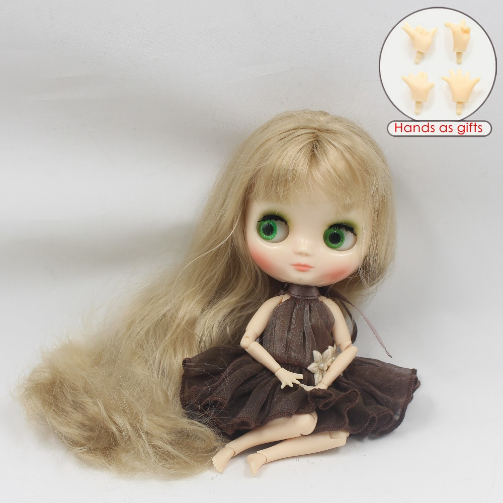 Middie Blythe Doll Flaxen Hair Jointed Body 20cm 2