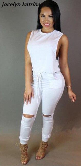 e4ed83ce51d4 jocelyn katrina brand 2017 New design top Sexy night club bodycon summer  sleeveless long jumpsuit overalls for women jumpsuit