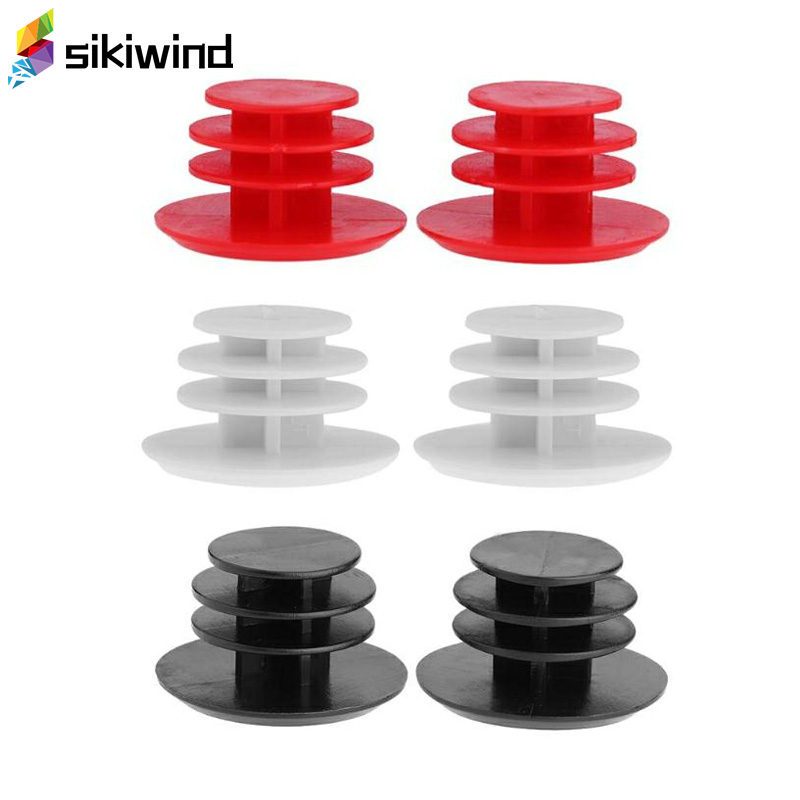 1 Pair Bicycle Handlebar Grip End Plugs Mtb Road Bike Grips Bicycle Cycling Handles Grips Plastic Caps Stoppers Bike Z95