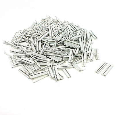 200 Pcs FC-40P 40 Pin Female IDC Socket Plug Ribbon Cable Connector Light Gray waterproof industrial plug socket 32a 5pin 400v electric female plug p 025 waterproof socket p 125 total 4pcs free shipping
