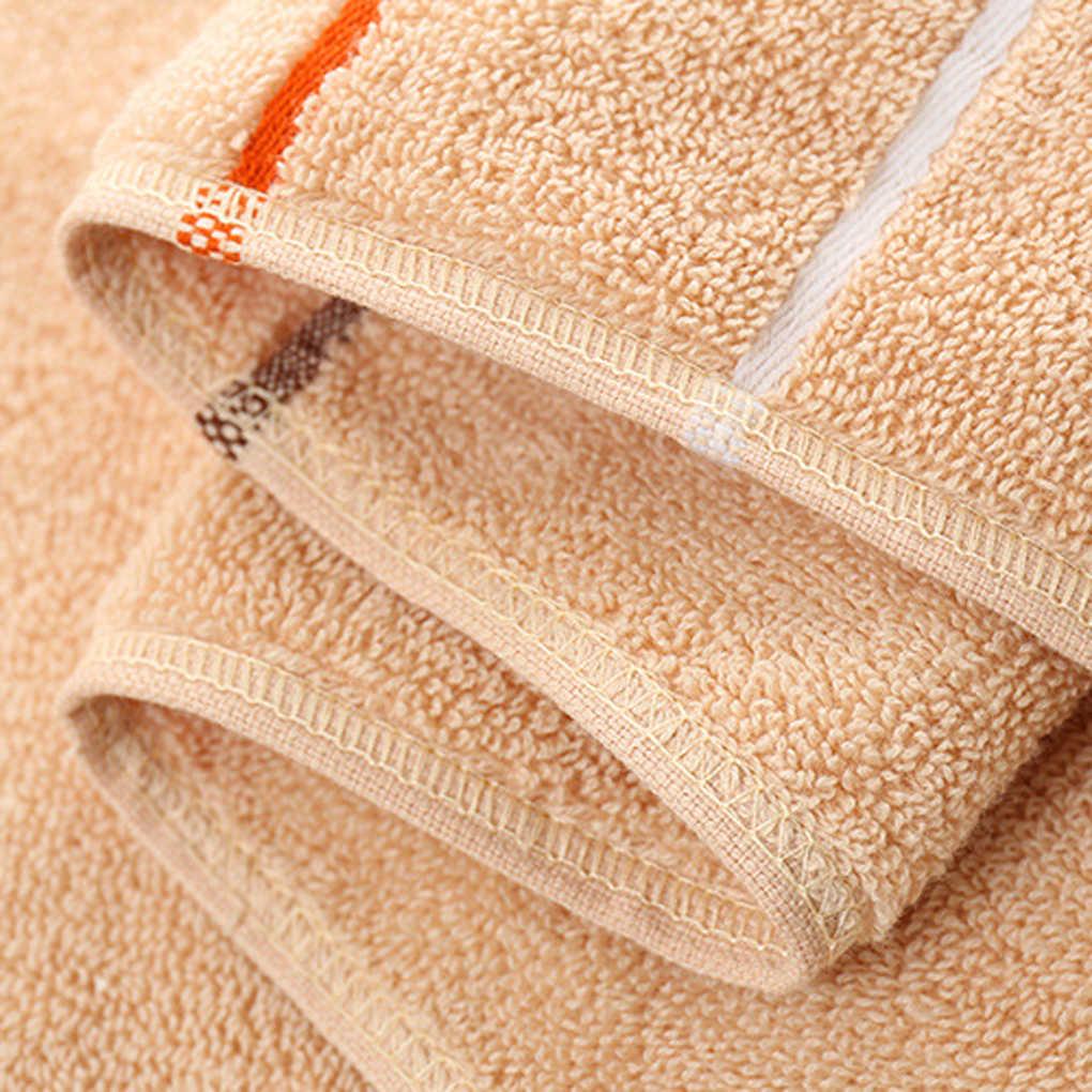 Szybkoschnący bawełniany ręcznik w paski twarz ręcznik kąpielowy łazienka chłonna 35*75/25*50 cm prezent domowy