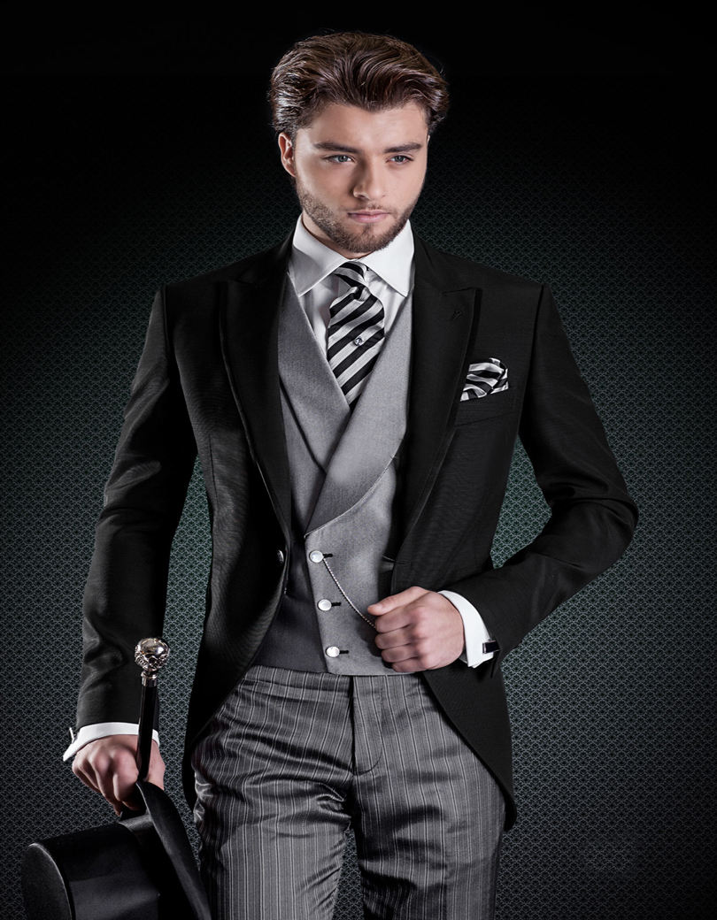Online Buy Wholesale black jacket grey pants from China black