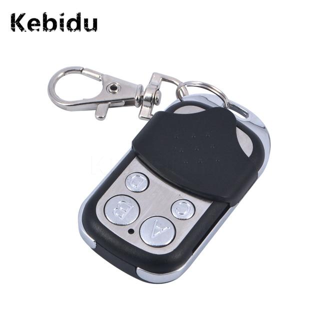 kebidu 433 MHz 4 Channel Electric Gate Garage Door Remote Control Wireless RF Remote Control ABCD Key Fob Controller Newest