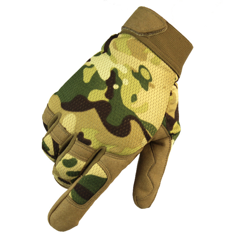 Outdoor Tactical Gloves Army Military Bicycle Airsoft Hiking Climbing Shooting Paintball Camo Sport Full Finger Gloves