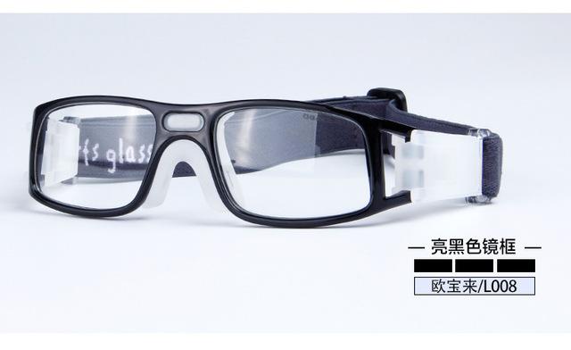 Profissional ao ar livre óculos de Basquete óculos óculos Esportes Futebol Óculos olho quadro combinar com lente óptica miopia nearsighted L008