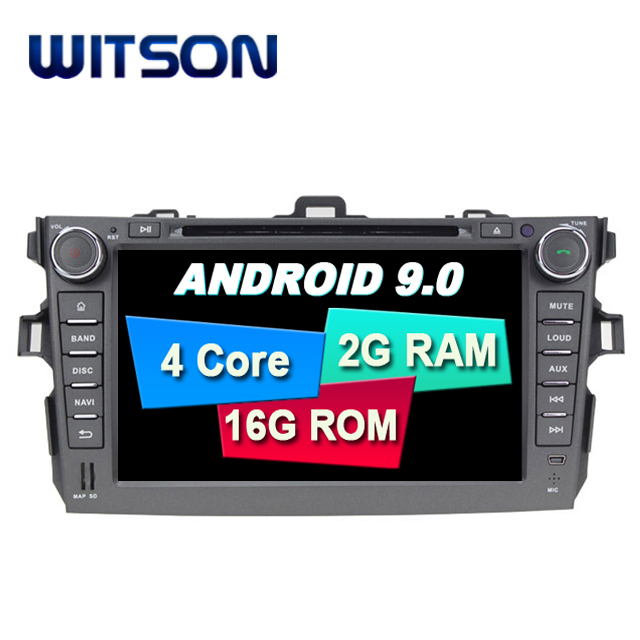 WITSON Android 9.0 car stereo for TOYOTA COROLLA 2006-2011 car audio gps dvd car radio car gps dvd player for TOYOTA COROLLA