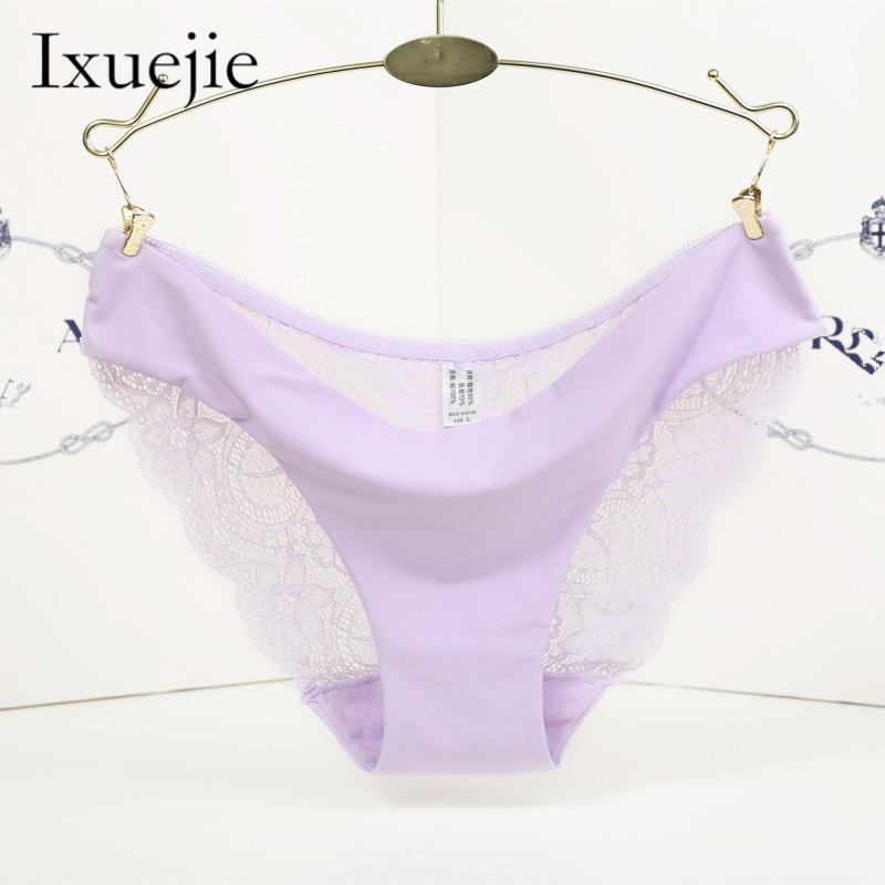032e741e7d6 5pcs lot S-XXL 5 Size Women Sexy Underwear Transparent Hollow Women s Lace  Panties