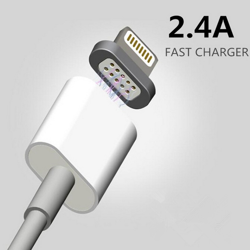 2.4A Magnetic Cable Micro Usb Data Cable for Apple iPhone 6 5 5s 6s Plus Charging Cable Android for Samsung HUA WEI Mobile Phone
