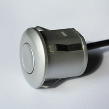 car sensors 21.5MM ultrasonic sensor with metal clip and 2.5M cable for parking sensor ultronic detection