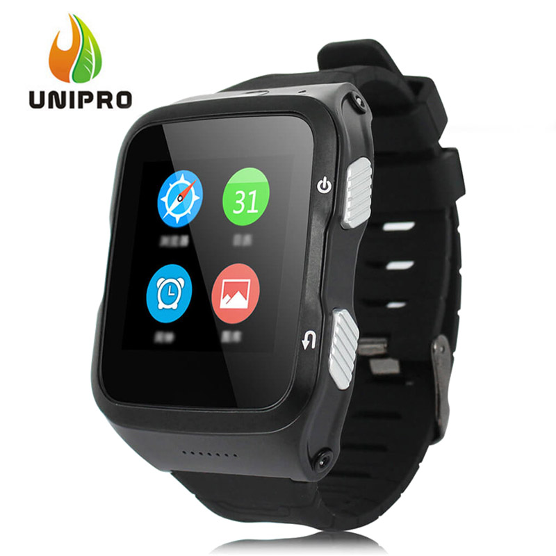 ZGPAX S83 3G Smart Watch Phone Android 5.1 MTK6580 Quad Core 1.3GHz 512MB/8GB 5.0MP Camera WiFi Bluetooth 4.0 GPS