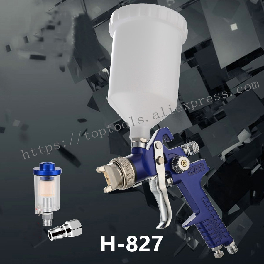 hvlp spray gun air paint gun pneumatic gun spray paint 1 7mm nozzle paint spray sprayers