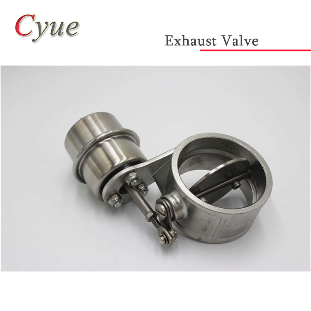 Stainless steel Variable Exhaust Control Valve Set Vacuum Actuator 51MM 60MM 63MM 76MM pipe Open Style