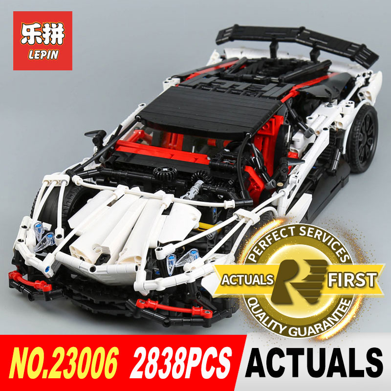 Lepin 23006 2838Pcs Genuine MOC Technic Series The Hatchback Type R Set Building Blocks Bricks Toys for Christmas Gifts Model