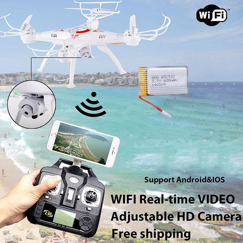 Professional RC Drone X5SW-1 Quadcopter with FPV WIFI Camera Headless 6-Axis Real Time RC Helicopter Quad copter Boy Toys new large rc drone k70f rc drones 5 8g fpv real time quadcopter 6 axis headless rc quadrocopter toys rc altitude 300 500m vs x8w