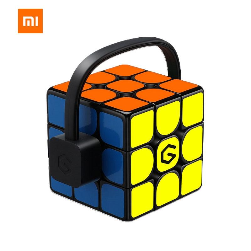 [Update English Version ] Xiaomi Mijia Giiker I3s AI Intelligent Super Cube Smart Magic Magnetic Bluetooth APP Sync Puzzle Toys
