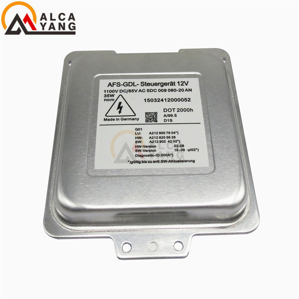 New D1S Xenon HID Headlight Ballast M odule For OEM H ella AFS GDL 5DC009060 20