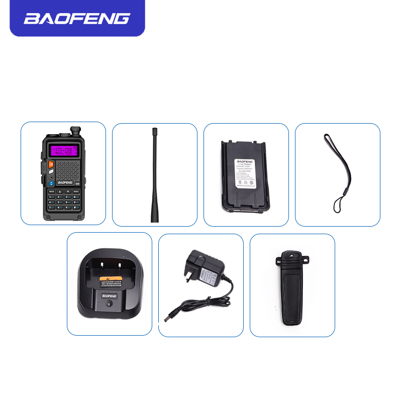 Image 5 - 2019 original BAOFENG BF R9 8W High Power UHF/VHF Dual Band 10KM Long Range Walkie Talkie 3800mAh Battery Handheld Radio-in Walkie Talkie from Cellphones & Telecommunications