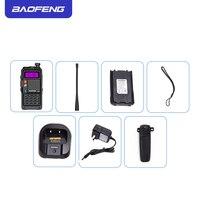 "vhf uhf 2019 המקורי Baofeng BF-R9 8W צריכת חשמל גבוהה UHF / VHF Dual Band 10 ק""מ ארוך טווח מכשיר הקשר 3800mAh סוללה רדיו כף יד (5)"