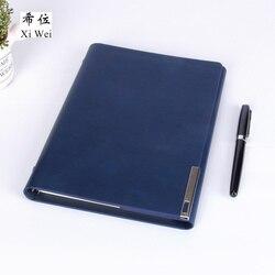 Cuaderno de cuero de Pu con hojas sueltas, cuaderno, carpeta, calendario, agenda, planificador, logotipo personalizado, hebilla de Metal, imán diario
