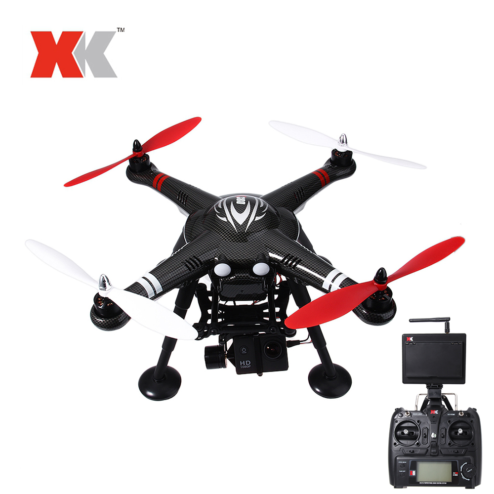 XK RC Drone Dron 2.4GHz 4CH FPV Headless Mode RTF Quadcopter with HD Camera 1080P Drones with GPS Brushless Motor RC Helicopter in stock mjx bugs 6 brushless c5830 camera 3d roll outdoor toy fpv racing drone black kids toys rtf rc quadcopter