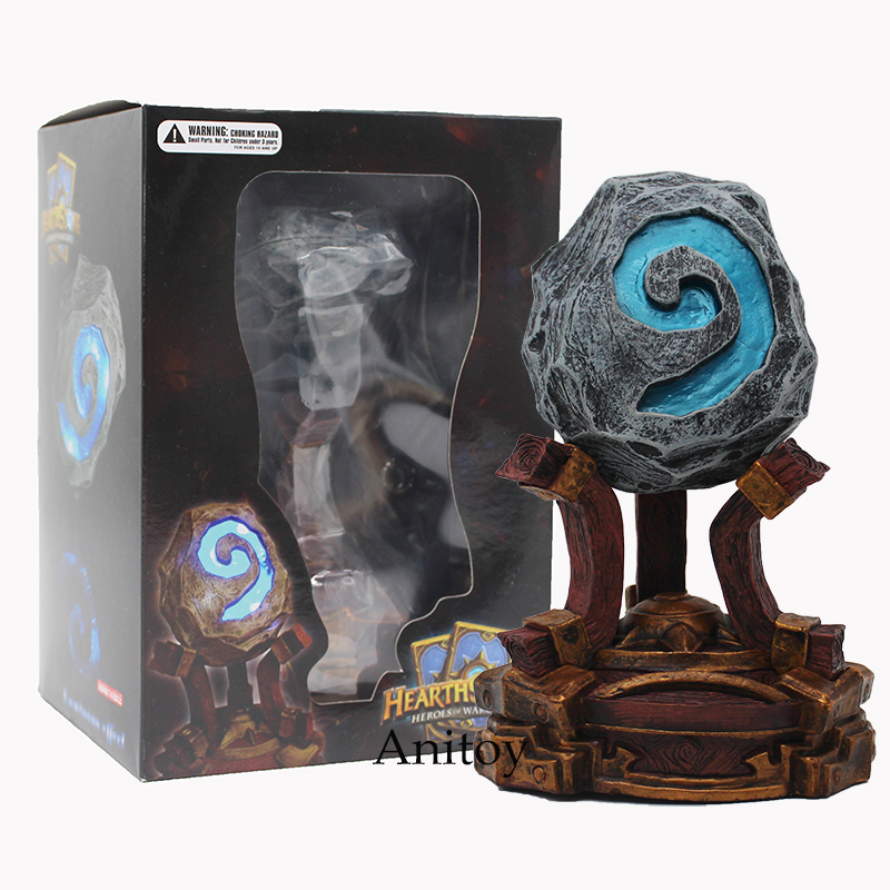Hearthstone Lights PVC Action Figure Collectible Model Toy 18cm marvel select avengers hulk pvc action figure collectible model toy 10 25cm