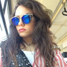 New  Vintage  Brand Designer Sun Glasses Women Fashion Cat Eye Sunglasses Men Woman UV400 Glasses Oculos De Sol Feminino Y07